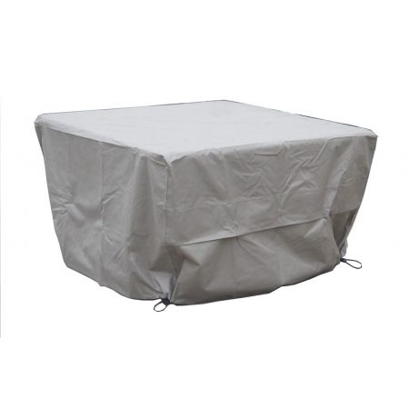 BRAMBLECREST Square Casual Dining Table Cover - Khaki - image 1